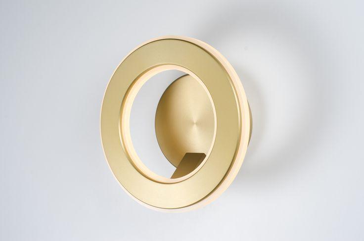 Custom Lighting design by Karice; Electron LED Wall Sconce Photo ©Karice Enterprises