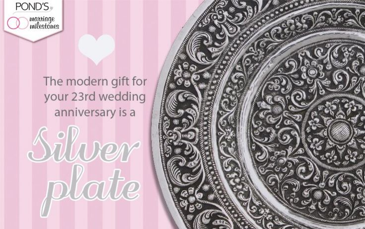 The modern gift for your 23rd wedding anniversary is