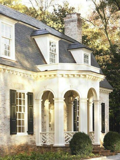 Best 25 mansard roof ideas on pinterest lafayette for French mansard house plans