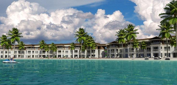 Beautiful hotel and condominium project at Playa dorada, Dominican Republic