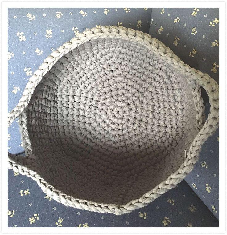 Häkelkorb aus Textilgarn_02