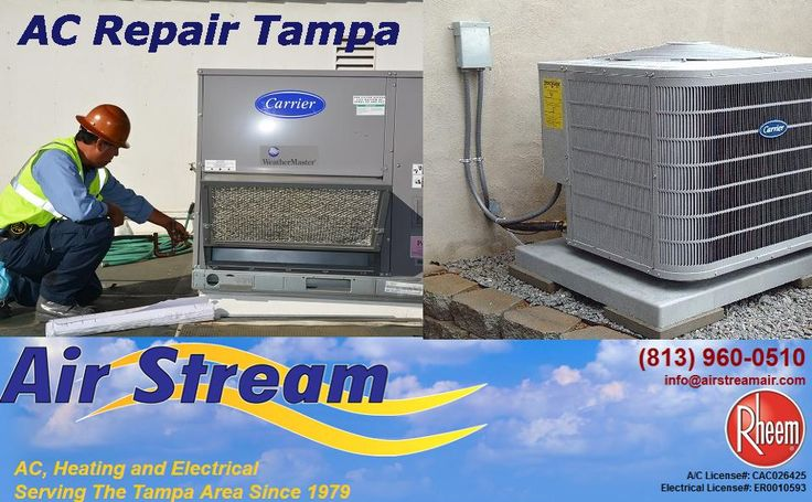 Call us at (813) 960-0510 and get your AC repair done in no time! For details you can also visit the website at www.airstreamair.com.