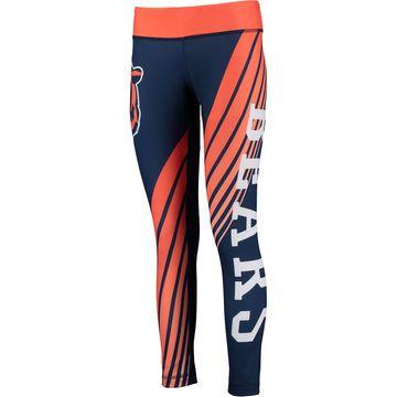 Concepts Sport Chicago Bears Women's Navy/Orange Dynamic Sublimated Leggings