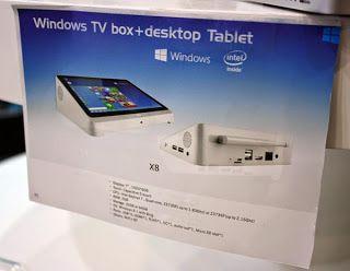 Avance en la tecnología: PiPO X8, un centro multimedia táctil con Windows 8...