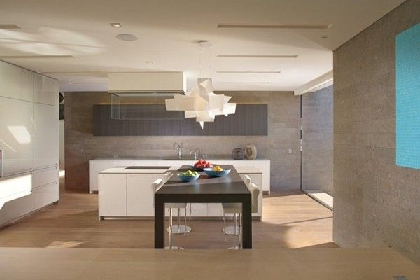 Gorgeous modern kitchen in white