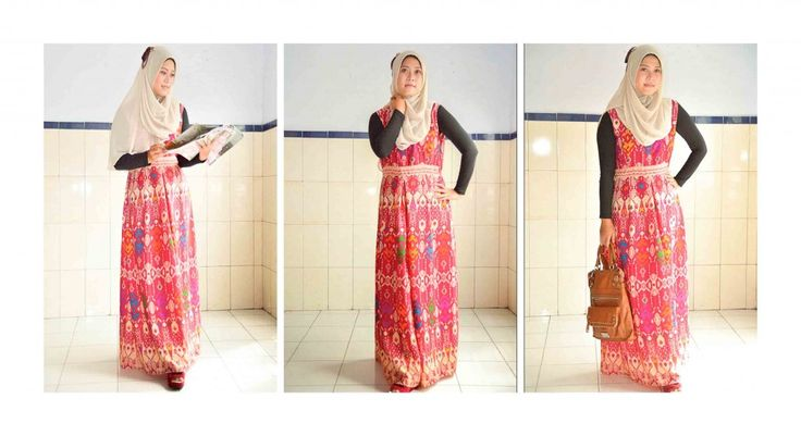 Dress Etnik Tradisional Bali Hijabcornerid Colection