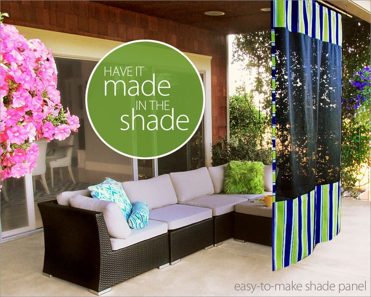 """Hanging Outdoor Shade Screen - they link you to Fabric Depot for $15 per yard 54"""" wide - the exact same brand / screen is at Home Depot for ~$10 per yard http://www.homedepot.com/p/Phifer-60-in-x-96-in-Black-Pet-Screen-3032233/205001782 (shopped as I need to make this one :-)  )."""