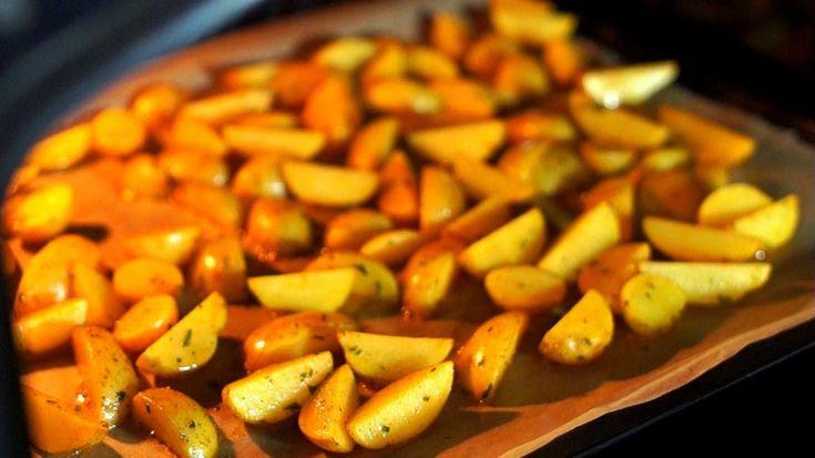 Wedges / Kartoffelecken aus dem Backofen - schnell, einfach und günstig