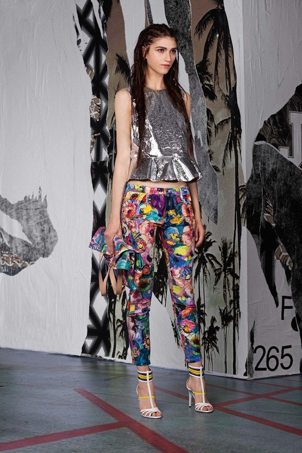 Absolutely in love with this Just Cavalli, pre-spring/summer 2015 fashion collection