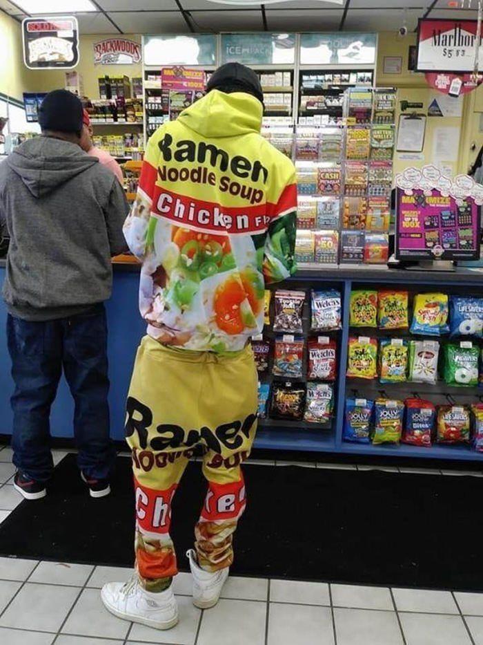 0de22cc5e31 ramen noodles outfit | no way | Funny fashion, Funny photos, Funny