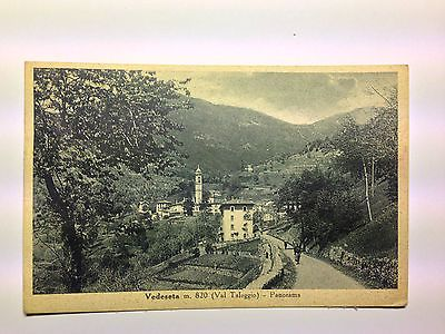 Vedeseta Valle Taleggio (BG) - animata con abitanti - viaggiata