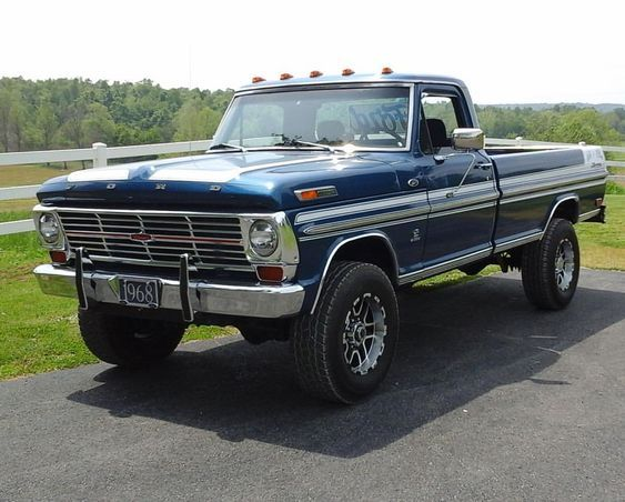 Raymond Croft's 1968 Ford F-250. #lmc #lmctruck #lmctrucklife #ford #fordf250 #fordtruck #fordtrucks #keepemontheroad #yourtruckyourstory #mytruckmustory