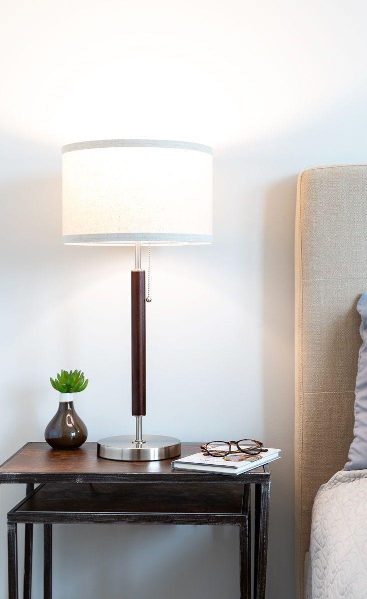 Mid Century Modern Table Side Lamp Desk Lighting Home Decor
