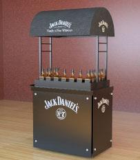 Carro de bebidas Jack Daniel´s