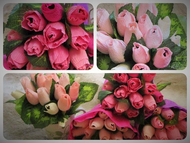Вот такие яркие конфетно-цветочные выходные. Подарки для воспитателей отправились в Самару.