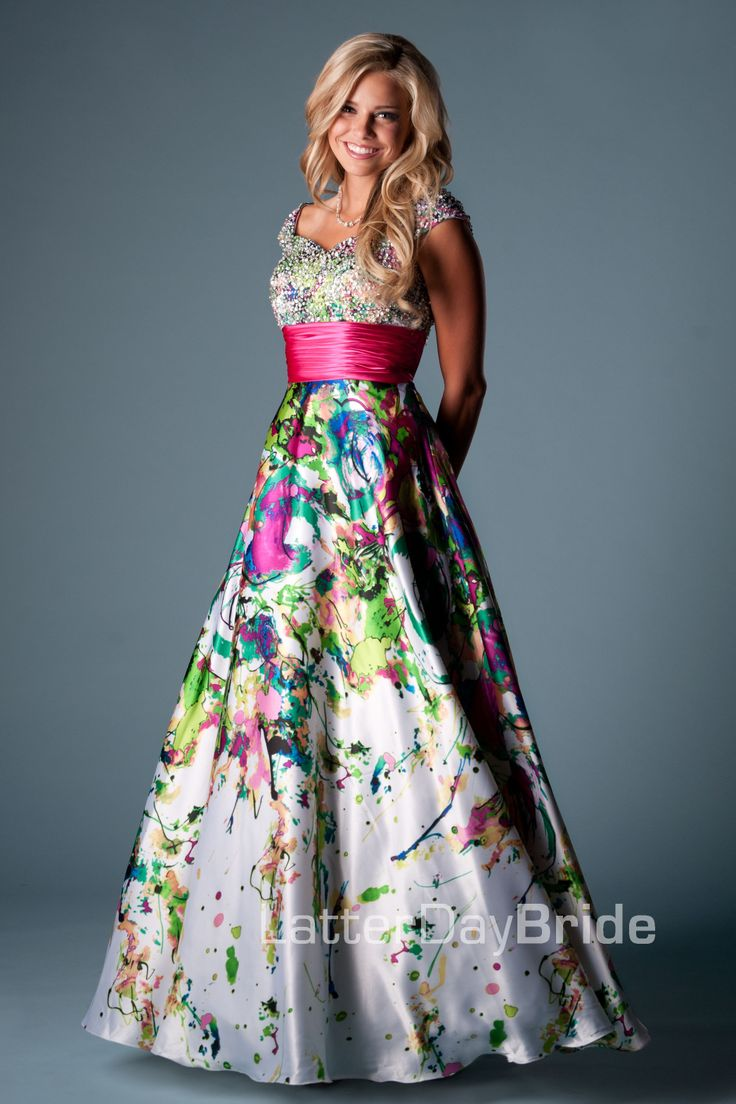 Bridesmaid & Prom, Payton | LatterDayBride & Prom -Modest Mormon LDS Prom Dress