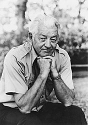 """wallace stegner - an iconic author. """"angle of repose"""" is my favorite of his novels."""