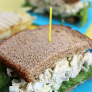 Copycat Chick-fil-A Chicken Salad; _ga- there's no question here, the chicken did come first. Hahaha