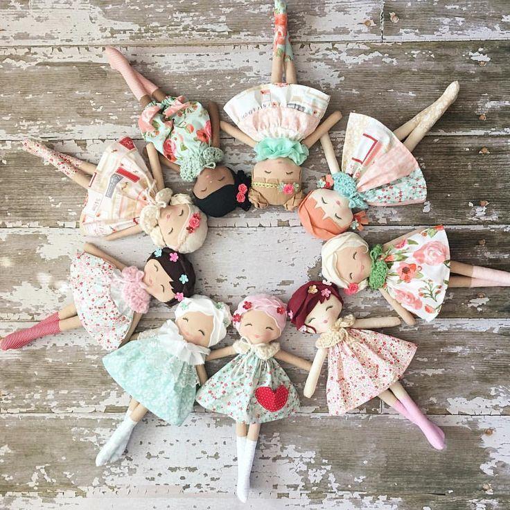 Beautiful Handmade Dolls by SpunCandy