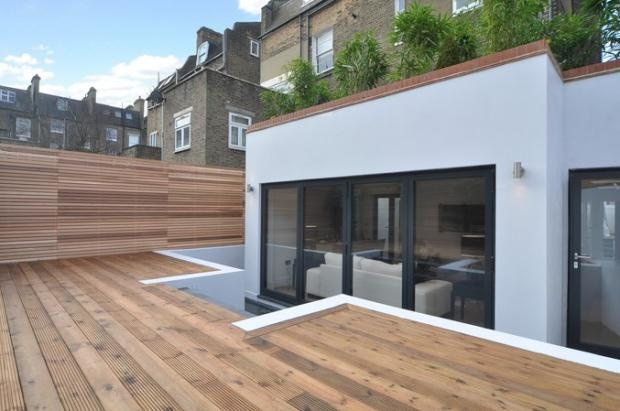 Side and rear extension in SW11 with landscaped garden