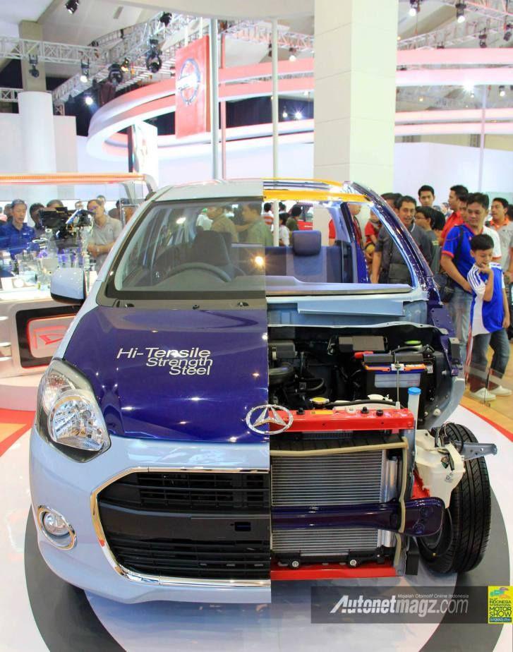 Daihatsu, Daihatsu Ayla Dibelah Di IIMS 2013: 7 Trik Tim Riset Daihatsu Memangkas Ongkos Produksi Daihatsu Ayla dan Toyota Agya Agar Menjadi Mobil Murah