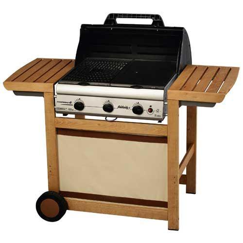 Barbecue Campingaz Adelaïde 3 Woody L Une touche de bois pour un style dans la pure tradition des barbecues. A retrouver vite sur Raviday-barbecue.com. #raviday #barbecue #campingaz #adelaide #3feux #soirée #grill #grillade #conviviale #15personnes