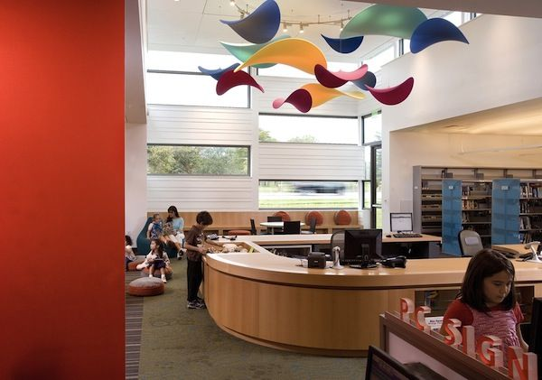 The Kirkwood Public Library in New Castle, DelawareArchitects Architecture, Architecture Libraries, Libraries Spaces, Libraries Design, Kirkwood Public, Blog Design, Public Libraries, Architecture Public, Libraries Mobiles