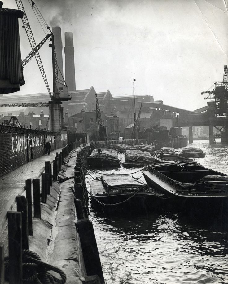 Ballast Quay, Greenwich late 1950′s - Image copyright of Greenwich Heritage Centre Search Room, Artillery Square, Woolwich.