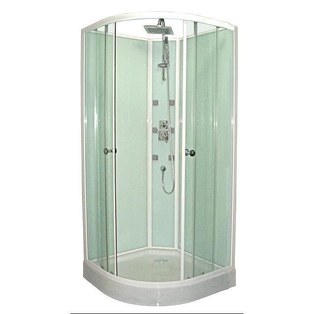 Les 25 meilleures id es de la cat gorie cabines de douche - Cabine de douche petite taille ...