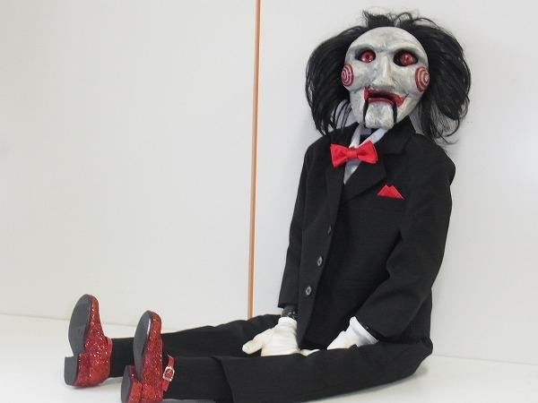 SAW Jigsaw Puppet Doll | Puppets | Jigsaw movie, Puppets ...