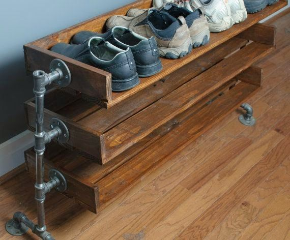 1000 ideas about shoe rack pallet on pinterest diy shoe. Black Bedroom Furniture Sets. Home Design Ideas