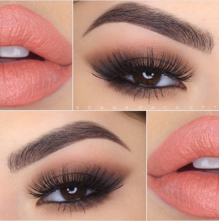 You can never go wrong with a natural smoky eye!