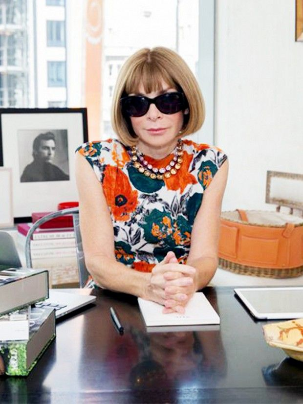 Including which fashion word she wishes people would stop using. via @WhoWhatWear. A interview with Anna Wintour- 73 Questions.