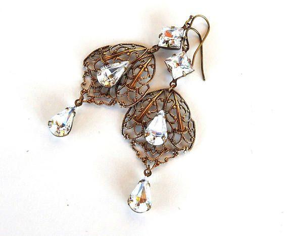 Noir Jewelry Noir Jewelry Woman Rose Gold-tone Crystal Earrings Rose Gold Size AaaQf9hWxR