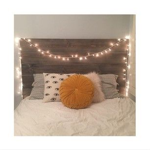 Buy a bed frame first, then spend money on a headboard later. | 27 Home Decor Hacks Every Twentysomething Should Know