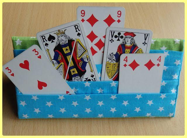 Lunatiek: Speelkaartenhouder: gratis tutorial!