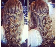 Easy elegant hairstyle to go with your renaissance theme!