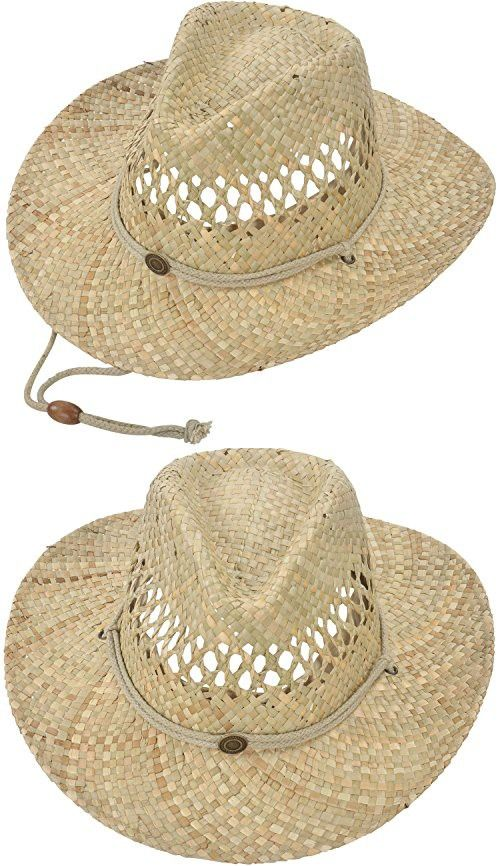 26a43fabc19 Men   Women s Summer Classic Cowboy Straw Hat