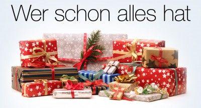 TOP Aktuell: Der Weihnachtsshop von AMAZON