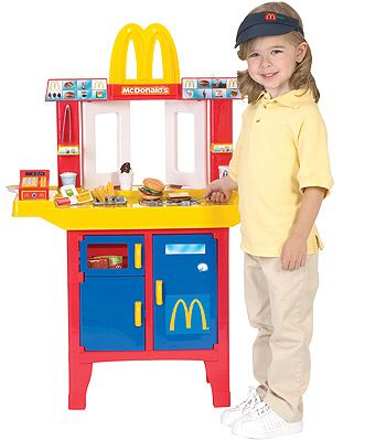 Just Like Home McDonald's Drive-Thru w/Play Food video