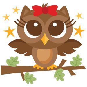 Girl Woodland Owl: Miss Kate Cutables