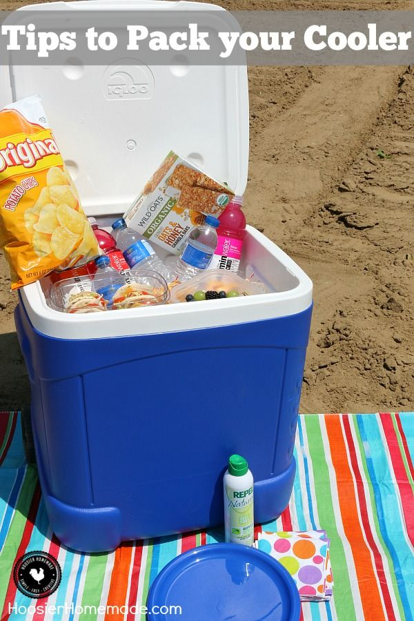 Do you know how to pack your cooler? What should you add? Is the ice on top or bottom? Here are some tips to pack your cooler. You might not have thought of all of them.