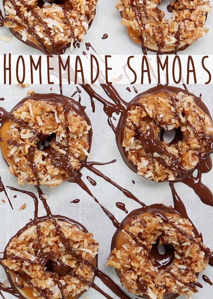 Here's How To Make Homemade Samoas