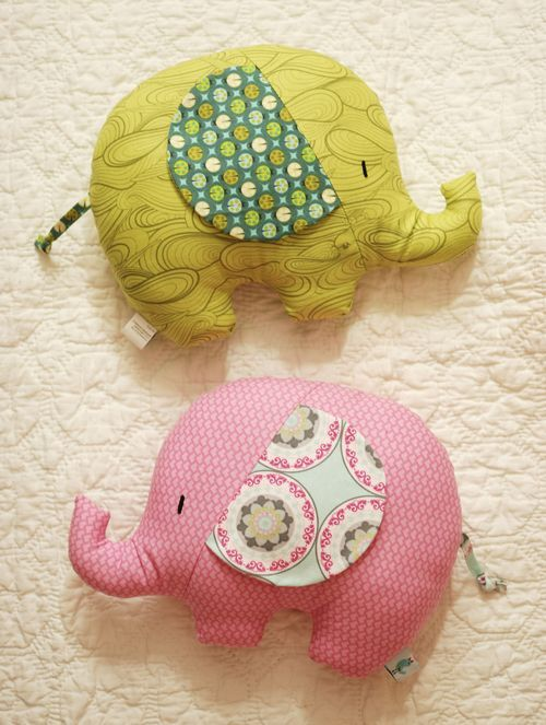 Retro Mama Elephant Softies sewing class