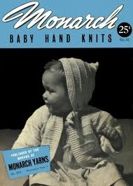 #vintage #baby: Patterns Book, Vintage Knitting, Knitting Patterns, Hand Knits, Baby Hands, Vintage Baby, Pattern Books, Retro Baby