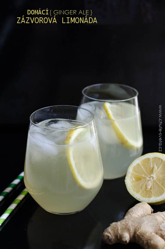 Není to tak dlouho, co jsem nechápala proč lidem, a hlavně Tomovi, chutná ginger ale, tedy zázvorová limonáda. Myslela jsem si, že má divnou chuť a kromě toho nejsem ani příznivcem bublinkatých nápojů. Pro mě pití ginger ale prostě nebylo cool. Tedy až do té doby, než jsem