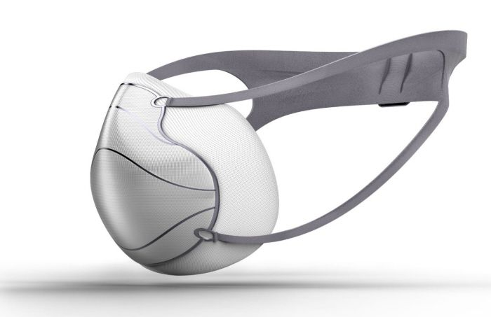 Whiff Air Pollution Mask by Gregory Hayter at Coroflot.com