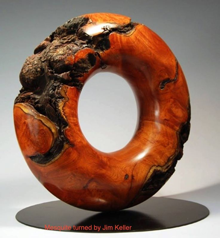 An amazing piece of wood turning.