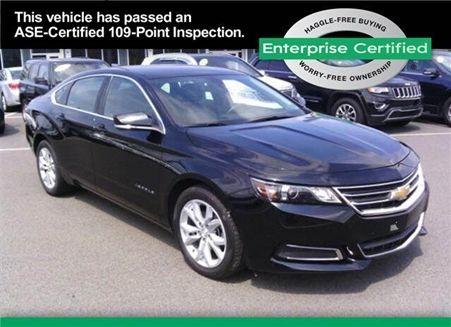 Used 2016 CHEVROLET Impala Mechanicsburg, PA, Certified Used Impala for Sale, 2G1115S30G9105460
