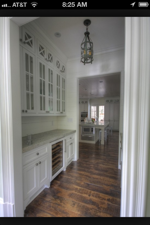 Galley Kitchen Ideas Butler's Pantry Walkthrough To Mudroom / Backdoor Entry